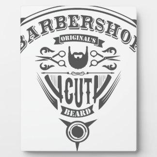 Barbershop originals vintage fotoplatte