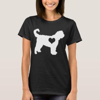 Barbet-Herz-Dunkelheits-T - Shirt