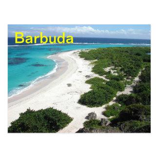 Barbuda-Postkarte Postkarte