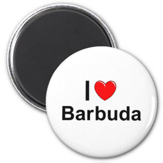 Barbuda Runder Magnet 5,1 Cm