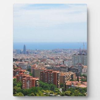 Barcelona Fotoplatte