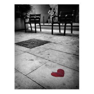Barcelona-Liebe Postkarte