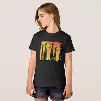 Barcelona-Mädchen-Shirt T-Shirt
