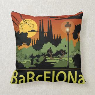 "Barcelona-Polyester-Wurfs-Kissen 16"" x 16"" Kissen"