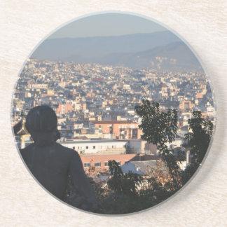 Barcelona-Postkarte Getränkeuntersetzer
