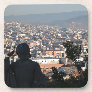 Barcelona-Postkarte Untersetzer