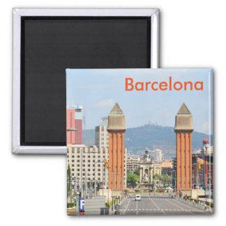 Barcelona Quadratischer Magnet