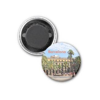 Barcelona Runder Magnet 3,2 Cm