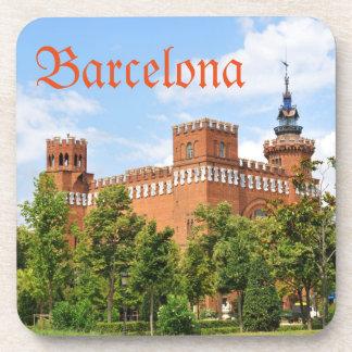 Barcelona-Schloss Untersetzer