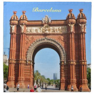 Barcelona Serviette