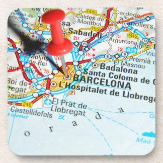 Barcelona, Spanien Getränkeuntersetzer