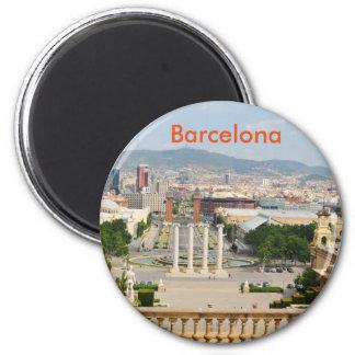 Barcelona, Spanien Runder Magnet 5,7 Cm