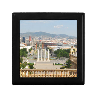 Barcelona, Spanien Schmuckschachtel