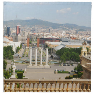Barcelona, Spanien Serviette