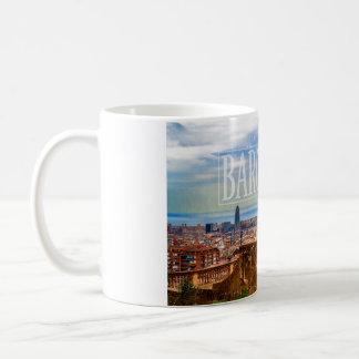 Barcelona-Stadt Kaffeetasse