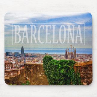 Barcelona-Stadt Mousepads