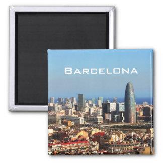 Barcelona-Stadtbild Kühlschrankmagnete
