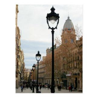 BarcelonaStroll - Portal Del Angel Postcard Postkarte
