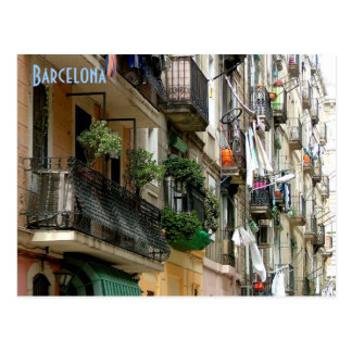 Barceloneta Postkarte