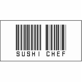 Barcode-Sushi-Koch Photoskulptur