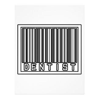 Barcode-Zahnarzt Flyer