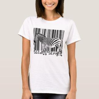 Barcode Zebra T-Shirt