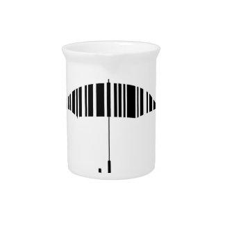 Barcoderegenschirm Krug