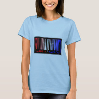 Barden-Code-Flaggen-Farbe-AMERIKA-Licht-Entwurf T-Shirt