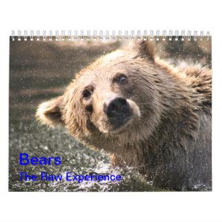 """Bären """"die rohe Erfahrung """" Kalender"""