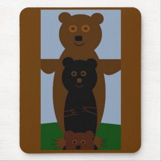 Bären wollen gerade, um Spaß zu haben Mauspad