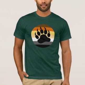 Bärenpranke im Bärn-Stolz-Kreis (große Front) T-Shirt