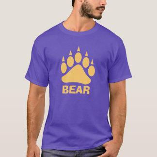 Bärentatze-Bär (Pfirsich) T-Shirt