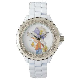 """""""Barfüßigschönheits-"""" Edelstahl-Armband-Uhr Uhr"""
