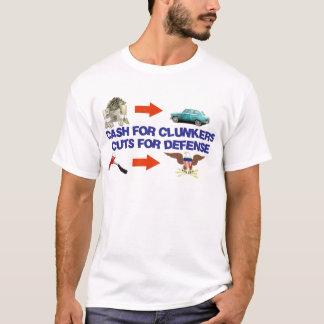 Bargeld für Clunkers, Schnitte für Verteidigung T-Shirt