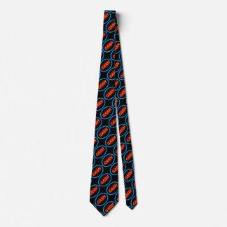 Bargeldneon Individuelle Krawatte
