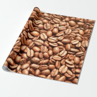 Barista Café-Geschäfts-Kaffeebohne-Muster Einpackpapier