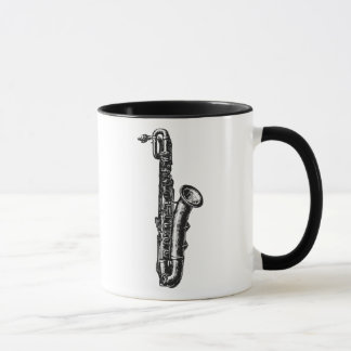 Bariton-Saxophon Tasse