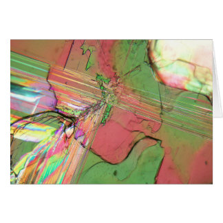 Bariumchlorverbindungskristalle unter dem karte