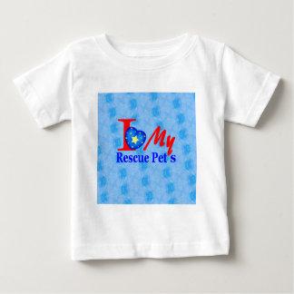 """Bark4Rescue Adoptions-Antrieb "" Baby T-shirt"