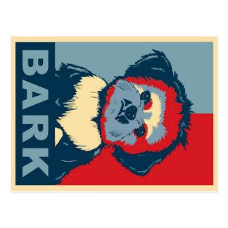 Barke!  Shih Tzu Postkarte