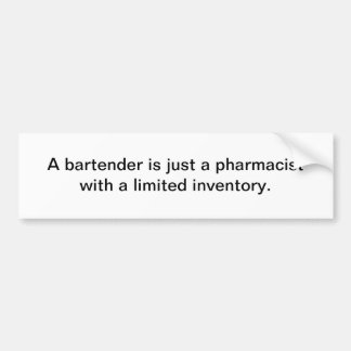 Barkeeper Autoaufkleber
