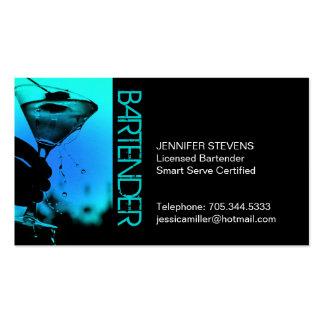 Barkeeper-Geschäfts-Karte Visitenkarten