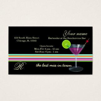 Barkeeper-/Inhaber-Bar Visitenkarte