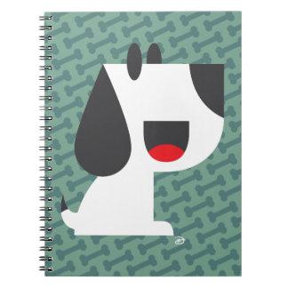 Barken-Barke (Grün) - Notizbuch Notizblock