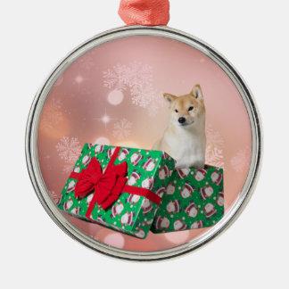 Barkley Geschenk - erstklassige runde Verzierung Silbernes Ornament