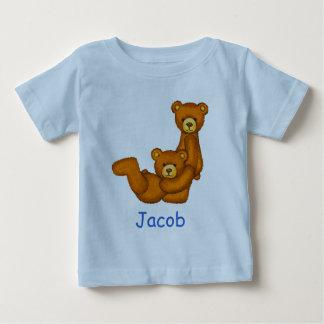 Bärn-Alphabet-Buchstabe J Initial~Custom Baby T-shirt
