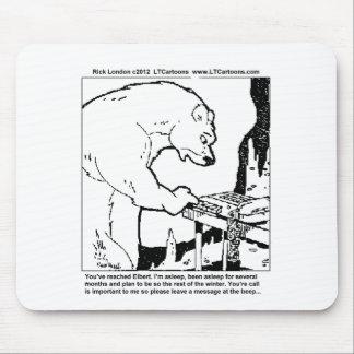 Bärn-antwortende Maschinen-lustige Mousepad
