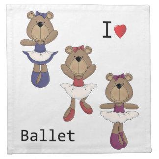 Bärn-Ballett Stoffserviette