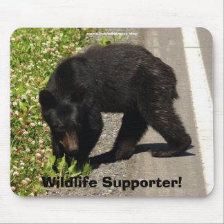 Bärn-Entwurf für Tier und Tier-Anhänger Mauspads