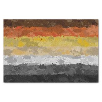 Bärn-Farben-Spritzer-Flagge Seidenpapier